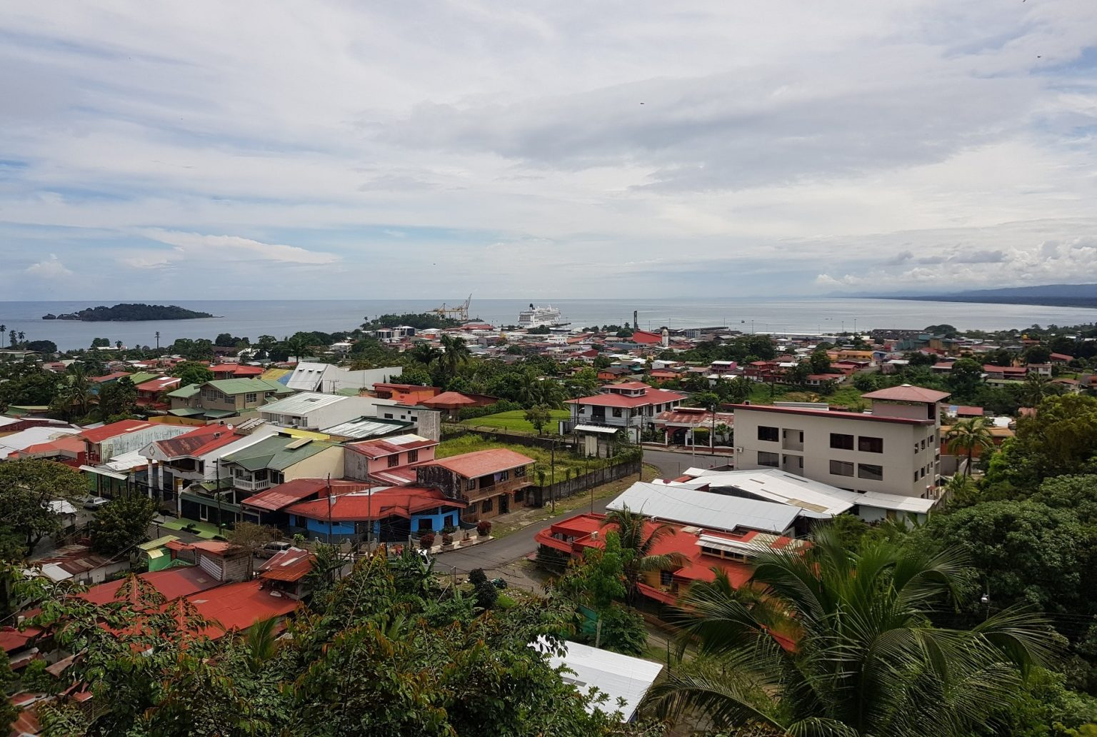 Puerto Limon panoramic view